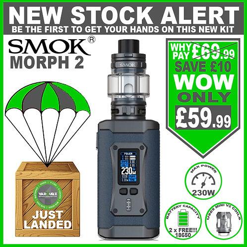 Smok Morph 2 Kit Blue + 2 FREE 18650 Batteries