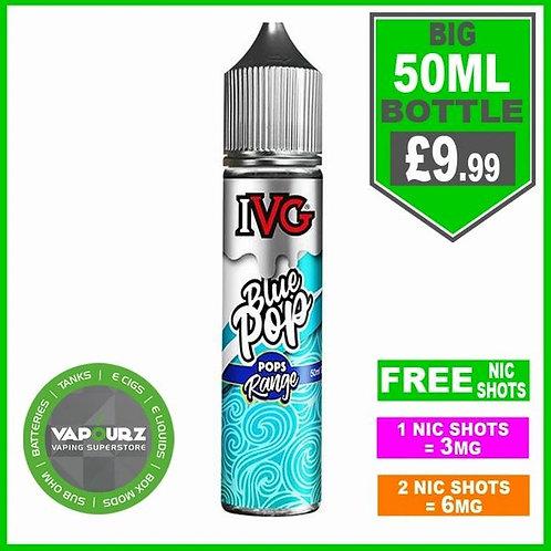 IVG Bluepop Pops Range 50ml