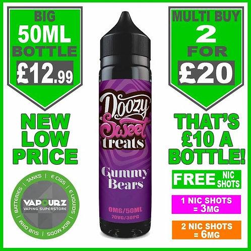 Gummy Bears Doozy Sweets  50ml