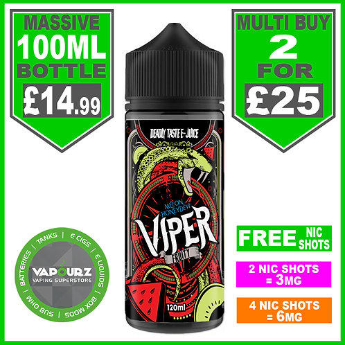 Melon Honeydew Viper Fruity 100ml