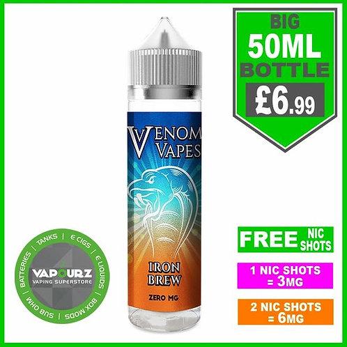 Iron Brew Venom Vapes 50ml