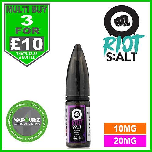 Purple Burst Riot Salt 10ml