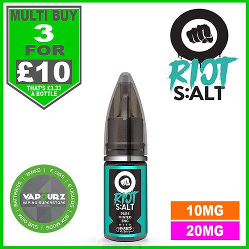 Pure Minted Riot Salt 10ml