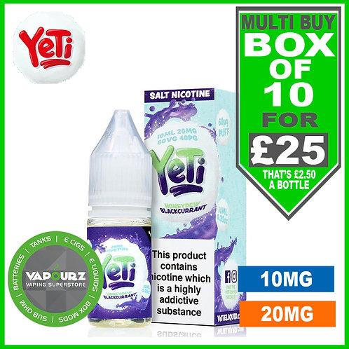 Box Deal Honeydew Watermelon Yeti Nic Salts