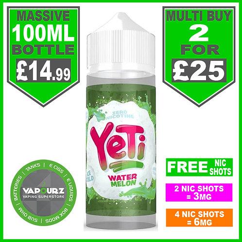 Watermelon Yeti 100ml