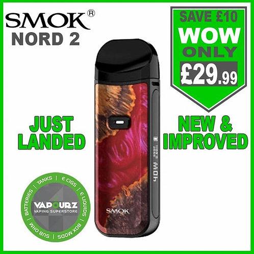 Smok Nord 2 Kit Red Stabalizing Wood