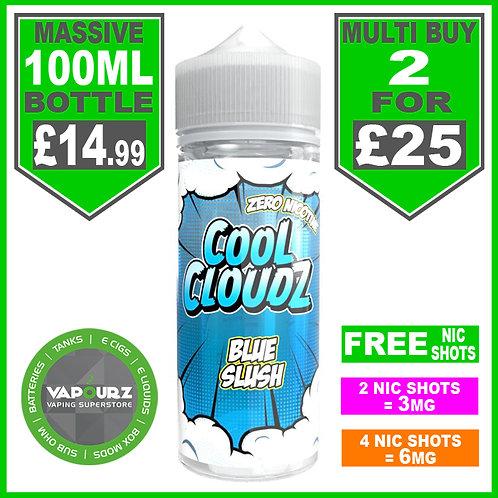 Blue Slush Cool Cloudz 100ml