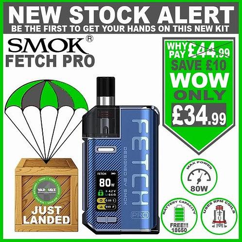 SMOK Fetch Pro Kit Blue with FREE!!! 18650 Battery