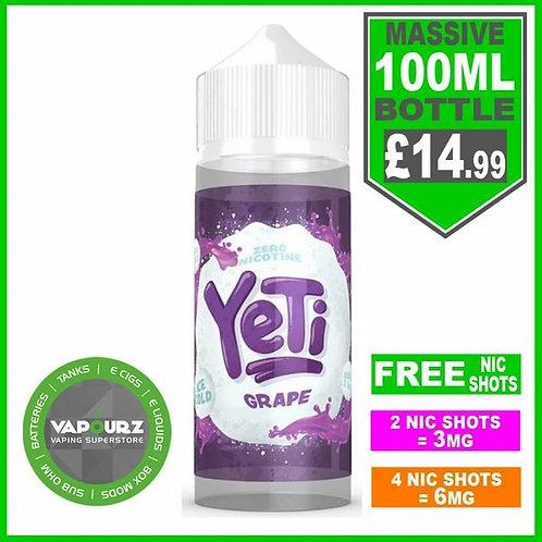 Grape Yeti 100ml