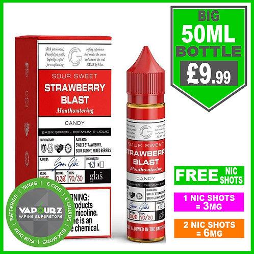Strawberry Gummy Basix Series Glas 50ml