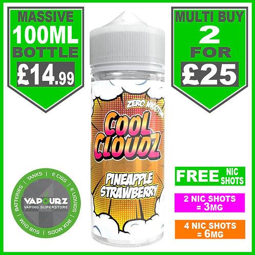 Pineapple Strawberry Cool Cloudz 100ml