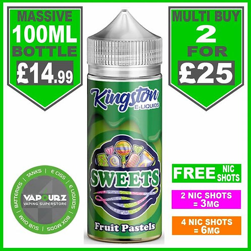 Fruit Pastels Kingston 100ml