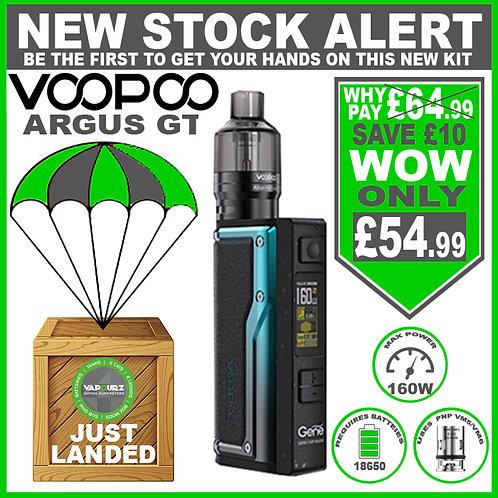 Voopoo Argus GT Kit Black & Blue + FREE Batteries