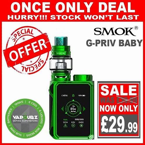 Smok G Priv Baby Kit Green Plus Free 18650 Battery