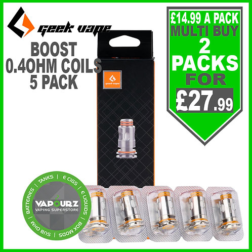 Geekvape Boost 0.4ohm Coils 5 Pack