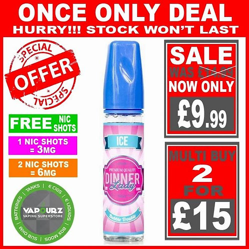 Bubble Trouble Ice Dinner Lady 50ml