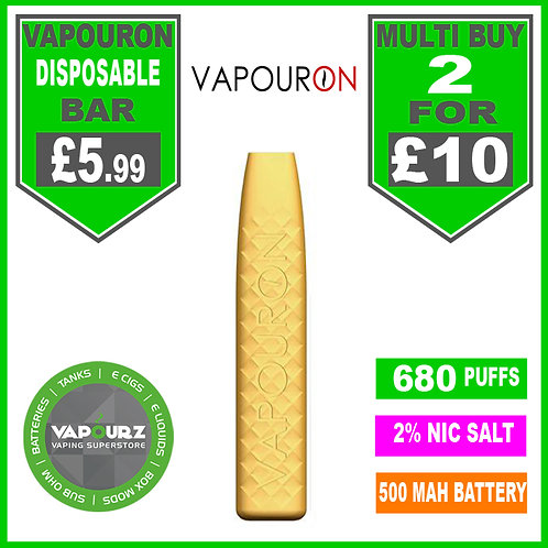 Vapouron Passionfruit disposeable bar