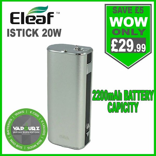 Eleaf Istick 20W Battery Mod Silver