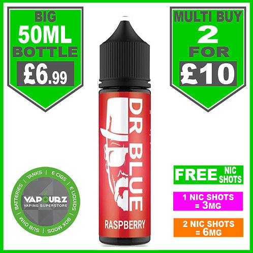 Raspberry Dr Blue 50ml