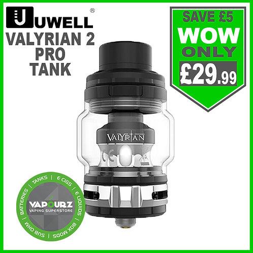 Uwell Valyrian 2 Pro Tank Black & Silver