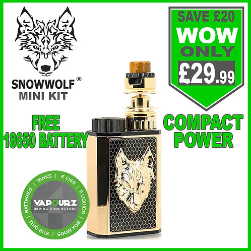 Snowwolf mini kit Black + Gold