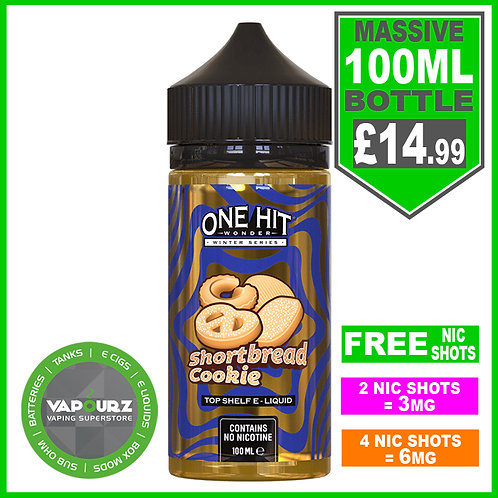 Shortbread Cookie One Hit Wonder 100ml