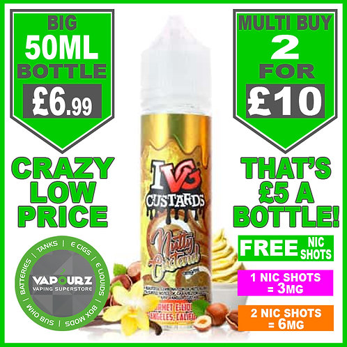 Nutty Custard IVG 50ml
