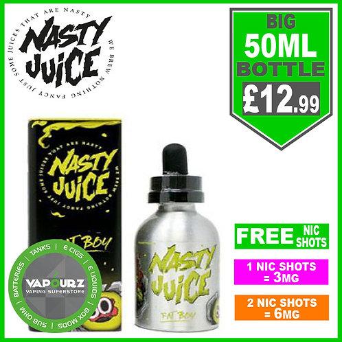 Fat Boy Nasty Juice 50ml