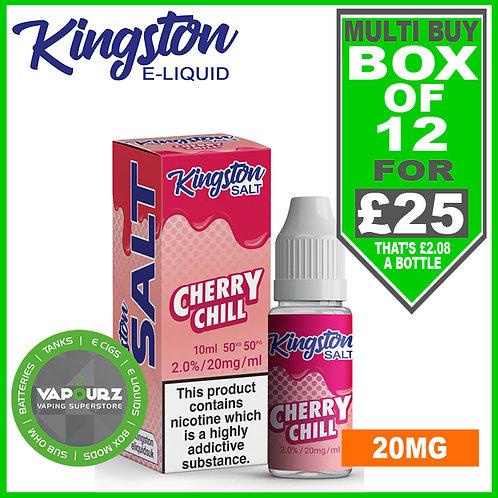 Box Deal Kingston Cherry Chill Nic Salt 20mg