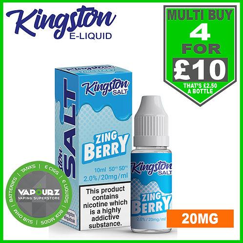 Kingston Zingberry Nic Salt 20mg