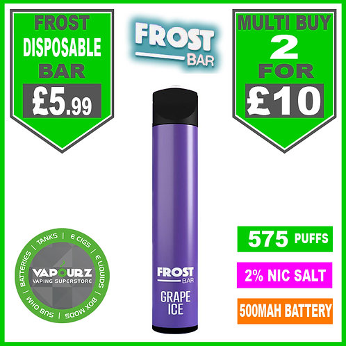 Frost Bar Grape Ice