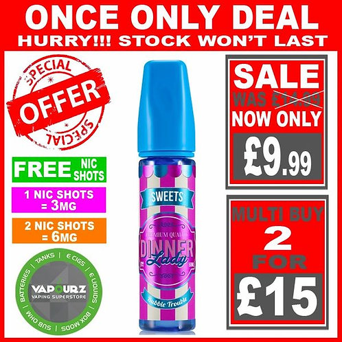 Bubble Trouble Sweets Dinner Lady 50ml