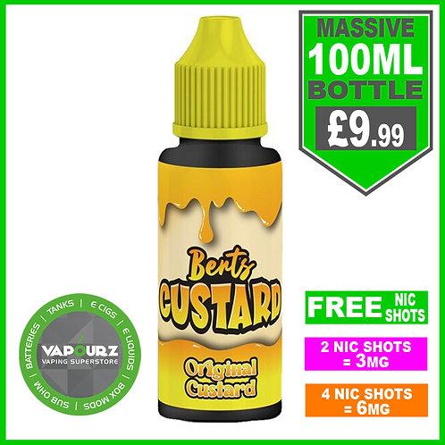 Original Custard Berts Custard 100ml
