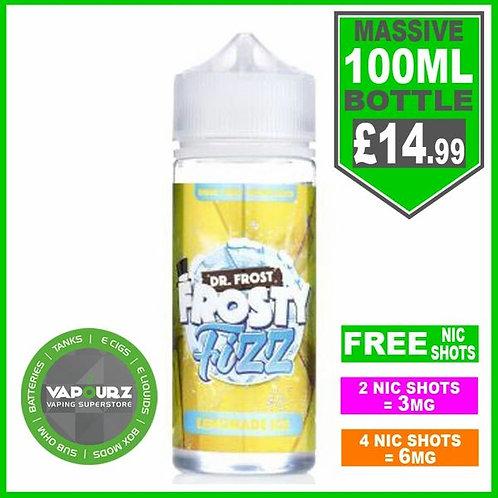 Lemonade Ice Frosty Fizz Dr Frost 100ml