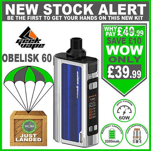 Geekvape Obelisk 60 kit SS & Blue
