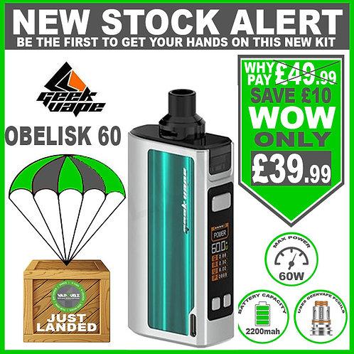 Geekvape Obelisk 60 kit Silver & Green