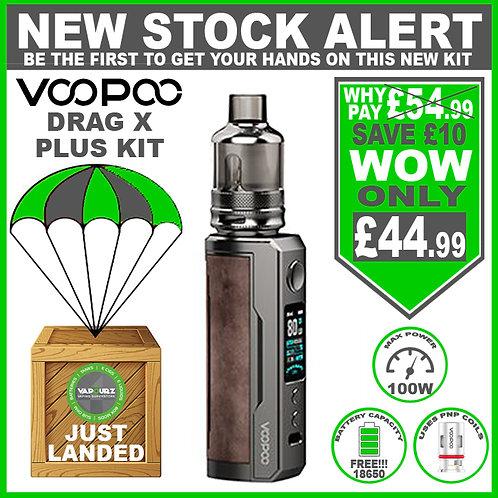 Voopoo Drag X Plus Kit Sandy Brown & FREE 18650 Battery