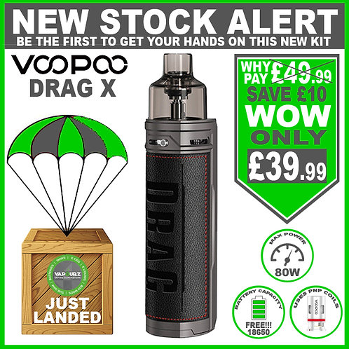 Voopoo Drag X Kit Classic Plus FREE 18650 Battery