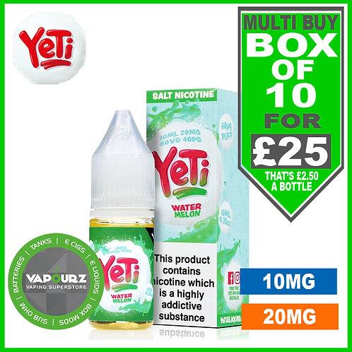 Box Deal Watermelon Yeti Nic Salts