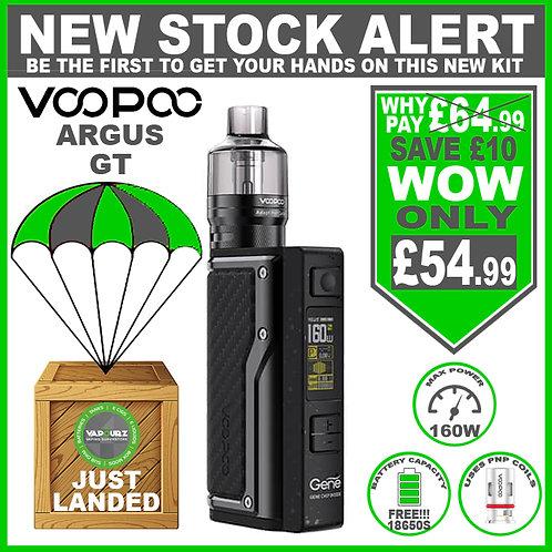 Voopoo Argus GT Kit Carbon Fiber Plus 2 x FREE 18650 Batteries