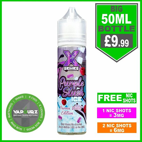 Purple Slush Ice X Series 50ml