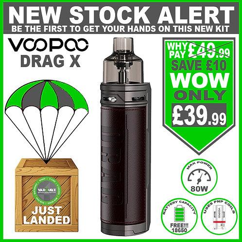 Voopoo Drag X Kit Chestnut Plus FREE 18650 Battery