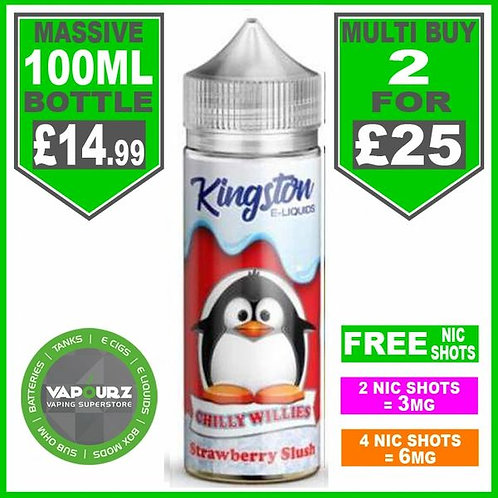 Strawberry Slush Chilly Willies Kingston 100ml