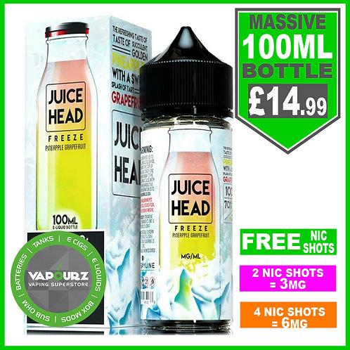 Pineapple Grapefruit Freeze Juice Head 100ml