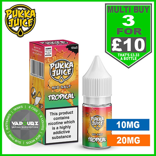 Pukka Tropical Nic Salt 10ml