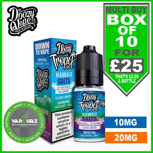 Box Deal Hawaii Doozy Tropix Nic Salts
