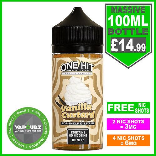 Vanilla Custard One Hit Wonder 100ml