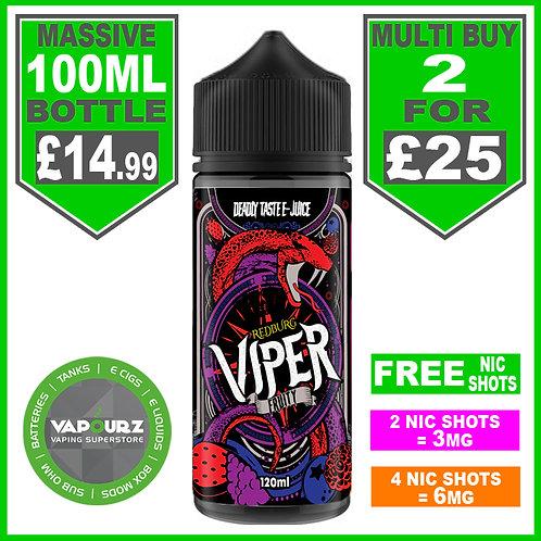 Redburg Viper Fruity 100ml