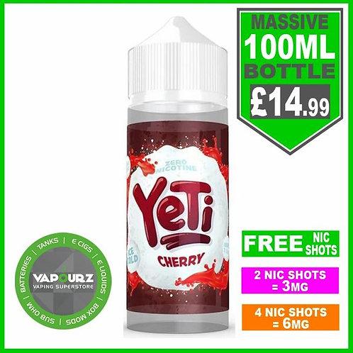 Cherry Yeti 100ml