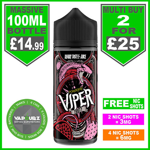 Pomberry Viper Fruity 100ml